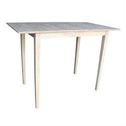 International Concepts Unfinished Rectangular Dining Table