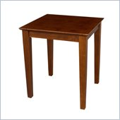 International Concepts End Table in Cottage Oak