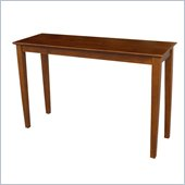International Concepts Console Table in Cottage Oak