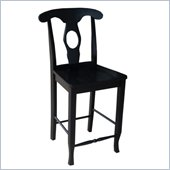 International Concepts Empire 24 Stool in Black