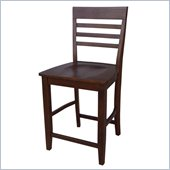 International Concepts C2 24 Stool in Espresso