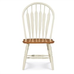 International Concepts Madison Park Windsor  Dining Chair in Oak/Pearl