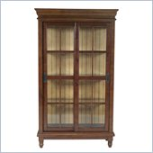 International Concepts Madison Park China Cabinet in Cinnamon/Espresso