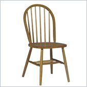 International Concepts Windsor 37 Spindleback Chair in Oak