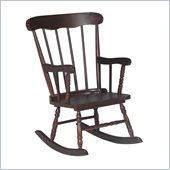 International Concepts Kids Rocker in Rich Mocha