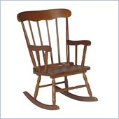 International Concepts Kids Rocker in Cottage Oak