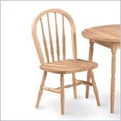 International Concepts Unfinished Windsor Chair