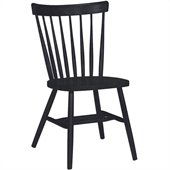 International Concepts Copenhagen chair in Black