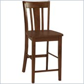 International Concepts San Remo Counterheight Stool in Cottage Oak