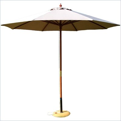 International Concepts 9' Octagonal Market Patio Umbrella in Natural