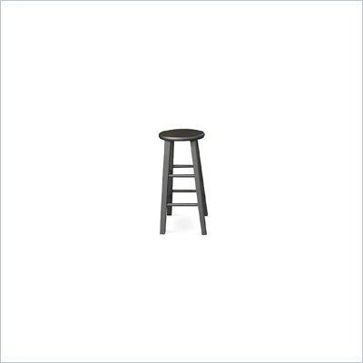"International Concepts 29"" Roundtop Counter Stool in Black"