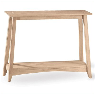 International Concepts Bombay Unfinished Sofa Table