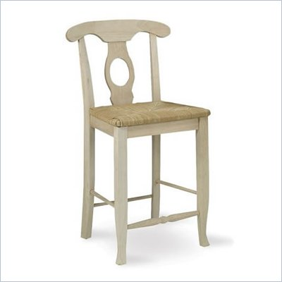 International Concepts 24&quot; Unfinished Empire Stool