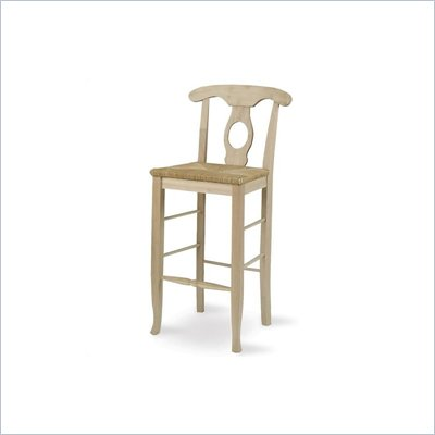 "International Concepts 30"" Unfinished Empire Stool"