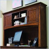 Lea Elite Crossover Hutch in Burnished Cherry Finish