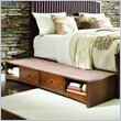 ADD TO YOUR SET: Lea Elite Crossover Underbed Drawer Box in Burnished Cherry Finish