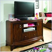 Lea Elite Rhapsody Wood Media Cabinet in Cherry