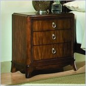 Lea Elite Rhapsody Wood Nightstand in Cherry