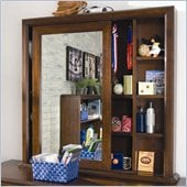 Lea Elite Expressions Kids Cabinet Mirror in Root Beer Cherry Finish
