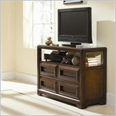 Lea Elite Expressions Kids Media Chest TV Stand in Root Beer Cherry Finish