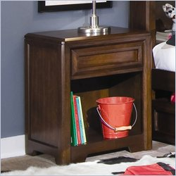 Lea Elite Expressions Kids Nightstand in Root Beer Cherry Finish