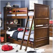 Lea Elite Expressions Kids Bunk Bed in Root Beer Cherry Finish