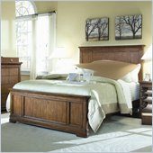 Lea Elite Classics Panel Bed in Brown Cherry Finish