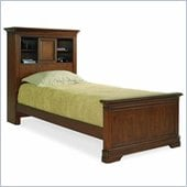 Lea Elite Classics Twin Bookcase Bed in Medium Brown Cherry Finish