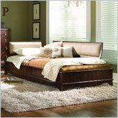 Lea Elite Rhapsody Platform Bed in Cherry Finish