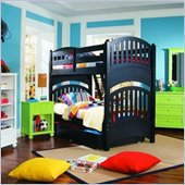 Lea My Style Twin Over Twin Bunk Bed 4 Piece Bedroom Set