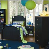 Lea My Style Kids Twin Wood Panel Bed 4 Piece Bedroom Set