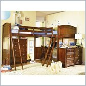 Lea Deer Run Bi Loft Bed 6 Piece Bedroom Set