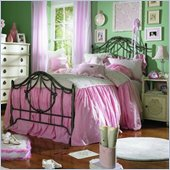 Lea Emma's Treasure Kids Metal Bed 3 Piece Bedroom Set