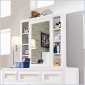 Lea Elite Reflections Kids Cabinet Mirror in Aspen White Finish