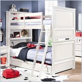 Lea Elite Reflections Kids Bunk Bed in Aspen White Finish