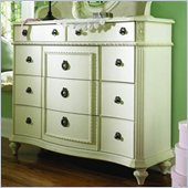 Lea Emma's Treasures Bureau Triple Dresser in Vintage White