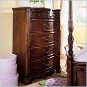 Lea Jessica McClintock Heirloom Kids 6 Drawer Chest in Heirloom Cherry Finish