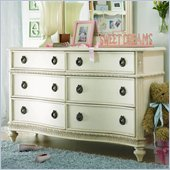 Lea Emma's Treasures 6 Drawer Double Dresser in White