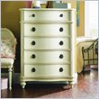 ADD TO YOUR SET: Lea Emma's Treasures Kids 5 Drawer Chest in Vintage White Finish