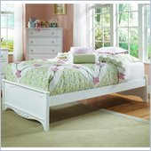 Lea Haley Kids Platform Bed in White Finish