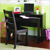 Lea Midtown Kids Student Desk in Dark Cherry Finish