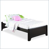 Lea Midtown Kids Platform Bed in Dark Cherry Finish