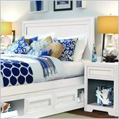 Lea Elite Reflections Panel Headboard in Aspen White Finish