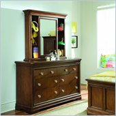 Lea Elite Classics 7 Drawer Double Dresser and Bureau Mirror Set