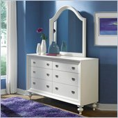 Lea Elite Zoe Drawer Dresser in White