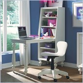 Lea Elite Zoe Bookcase Desk in White