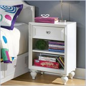 Lea Elite Zoe Nightstand in White