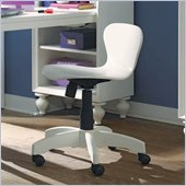 Lea Elite Zoe Chair-Wood Seat/Back in White