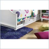 Lea Elite Zoe Twin/Full Underbed Drawer Box in White