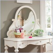 Lea Elite Vintage Boutique Vanity Mirror in Vintage White